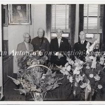 Image of 14.0093RS - Group photograph of P. L. Anderson and three other men