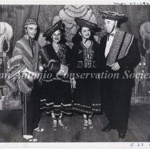 Image of 14.0103RS - P.L. Anderson Poses with Paco Miller Dancers