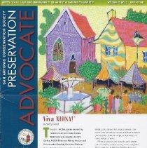 Image of Preservation Advocate: Vol. 47, No. 2, Spring 2011 - San Antonio Conservation Society