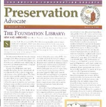 Image of SACS Newsletters Summer 2008