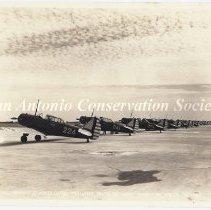 Image of 90.241 - [BT-9 Planes at Randolph Field]