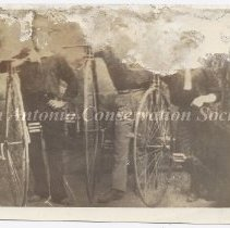 Image of D.16.0003 - [Three Men and their Unicycles]