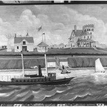 Image of P1984.211 - Conanicut Park, E Shore Rd #1070 & 1076/ steam