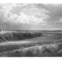 Image of P1991.008 - William Trost Richards View of Watson Farm.