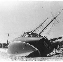 Image of P1984.167 - Conanicus Ave  A, hurricane damage