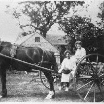 Image of P1982.035 - Hay Rake on Hammond Farm