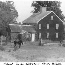 Image of P1976.054 - Thomas Carr Watson Farmhouse