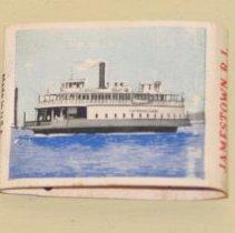 Image of Matchbook, Jamestown Ferry