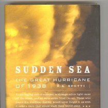 Image of L2015.016.002 - Sudden Sea: the Great Hurricane of 1938