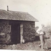 Image of P1921.007 - Milk house on Eldred farm.