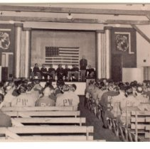 Image of P2012.030.003 - Graduation U.S. Army School, Prisoners of War (PW), Fort Getty