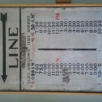 Image of Ferry Schedule 2015
