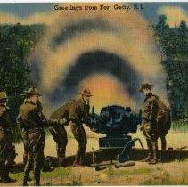 Image of P2015.112.012 - Artillery Firing