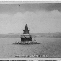 Image of P2015.112.023 - Plum Beach Light, Plum Beach, R.I.