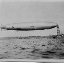 Image of P2016.101.076 - Navy dirigible