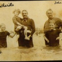 Image of P2016.103.008 - John Price Wetherill with his two youngest sons