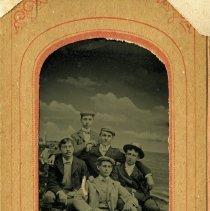 Image of P2016.114.032 - Five men