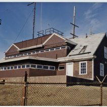 Image of P2017.019.002 - The Harbor Entrance Command Post building