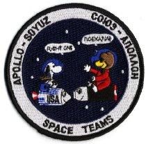 Image of Apollo-Soyuz Space Teams
