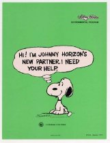 Image of Snoopy/Johnny Horizon flyer, 1