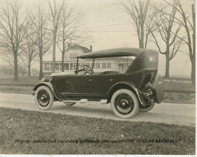 1923 Auburn Touring Beauty Six by Railroad Tracks at Auburn ...