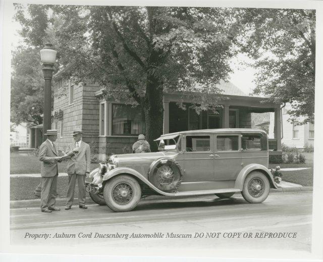 1926-1927 Auburn Sedan, Mr. and Mrs. Donald Schaab, Auburn ...