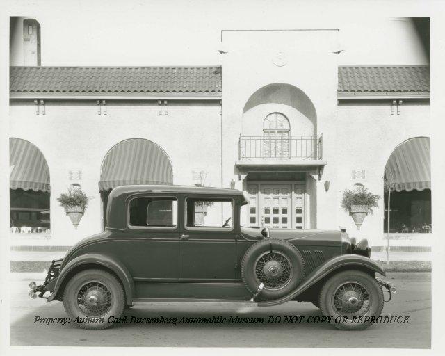 1929 Auburn Victoria at Dilgard Brother's Furniture Store, Auburn ...