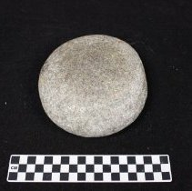 Image of Granitic Mortar--Exterior view of base. Side D