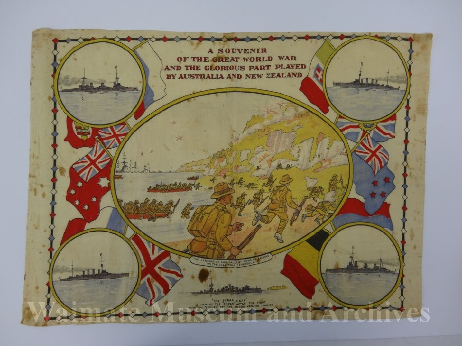 WWI Pictorial banner - Waimate Museum and Archives