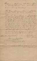 Image of Copy of Ordinance tendering St. James or Market Square to County Court.