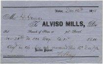 Image of Alviso Mills Invoice