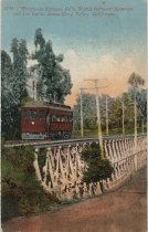 Image of Peninsula Railway Company's. trestle