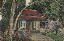 Image of A Japanese Tea House, Alum Rock Park, San Jose, Cal.