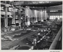 Image of Interior View of New Foundry