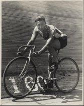 Image of Stars On Shirt of Cyclist
