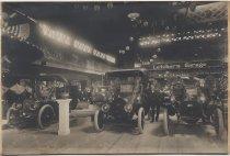 Image of 1909 Automobile Show, Auditorium Rink, San Jose