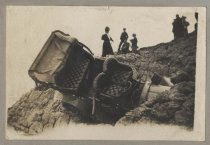 Image of Car in accident, c. 1906