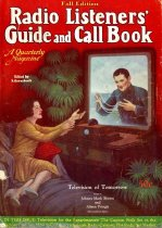 Image of Radio Listeners' Guide and Call Book, November 1928