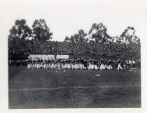 Image of Stanford University marching band, circa 1911-1916