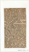 Image of 2003-46-145 - Perham Collection - Perham Clippings