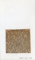 Image of 2003-46-148 - Perham Collection - Perham Clippings