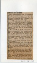 Image of 2003-46-167 - Perham Collection - Perham Clippings