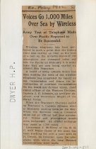 Image of 2003-46-511 - Perham Collection - Perham Clippings