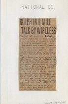 Image of 2003-46-548 - Perham Collection - Perham Clippings