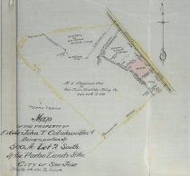 Image of Map of the Property of John T. Colahan