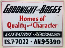 Image of Goodnight and Boggs sign