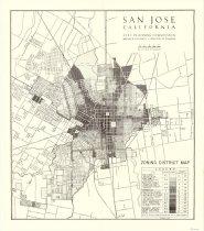 Image of Zoning District Map of San Jose