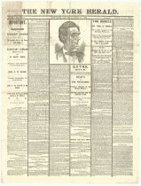 Image of New York Herald, April 15, 1865