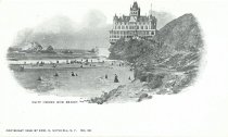 Image of Cliff House and Beach, 1899