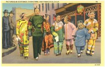Image of Picturesque Costumes, Chinatown, S.F.